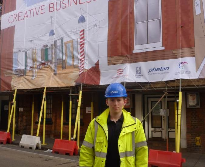 New Apprentice Starts on Site