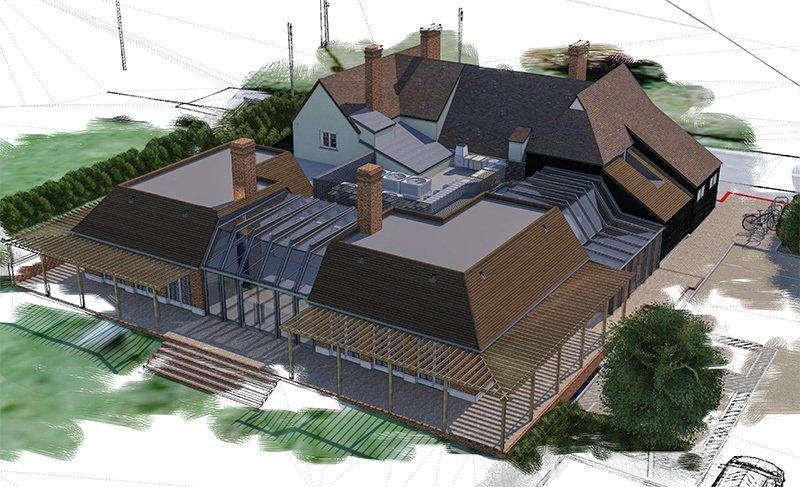 Phelan Win The Green Man, Chelmsford Extension & Refurbishment Project