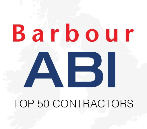 Phelan on Barbour ABI Top 50 Contractors Table
