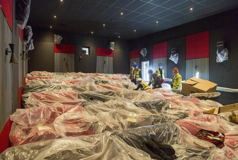 Everyman Cinema, Chelmsford Taking Shape