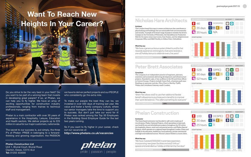 Phelan appears in the Building Good Employer Guide – Again!