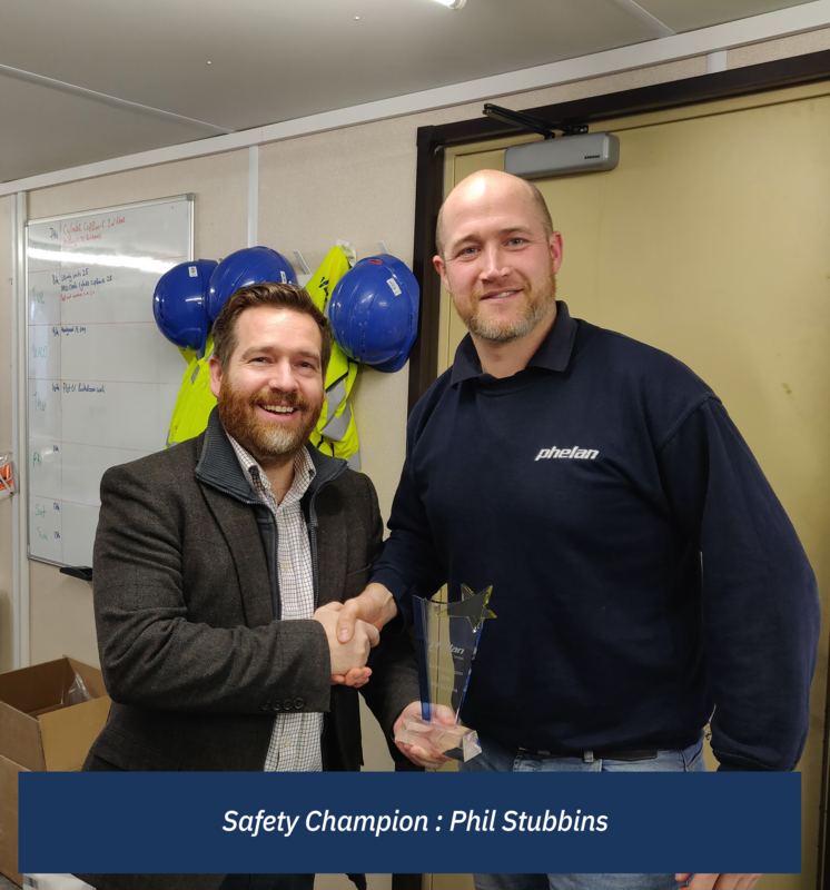 Safety Champion: Phil Stubbins