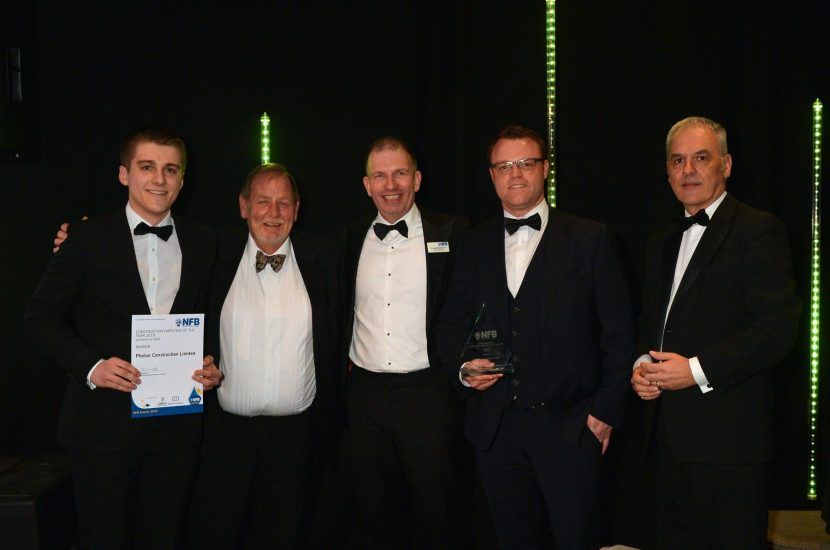 Phelan Construction 2018 award winners