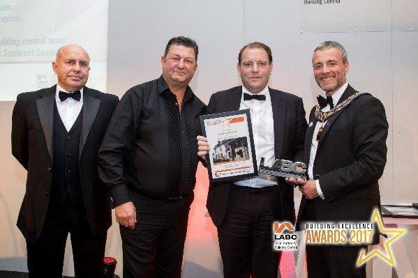 Phelan Construction 2017 award winners